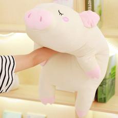 Plush Doll, Toy, lyingdownpigletdoll, piglet