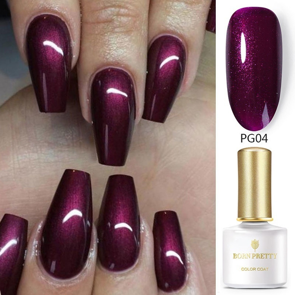art, Beauty, UV Gel Nail, purple