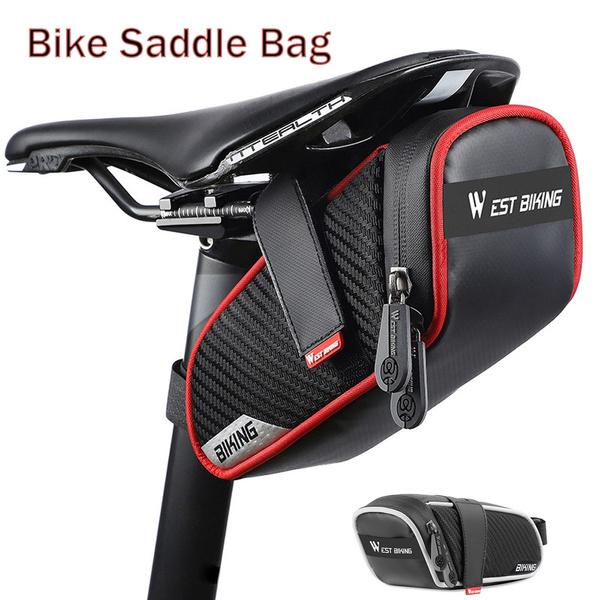 Waterproof Cycling Bike Bag Seat Tail Rear Pouch Road Saddle Bag