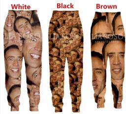 womenmen3dtrouser, Funny, Fashion, pants