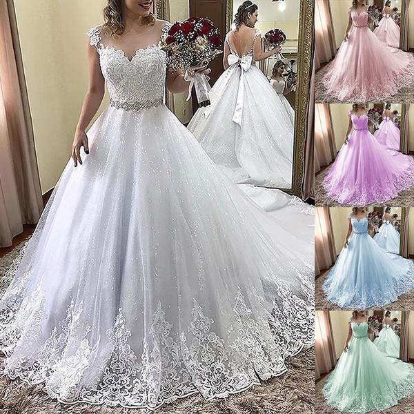 Plus Size, Lace, Long Sleeve, Evening Dress