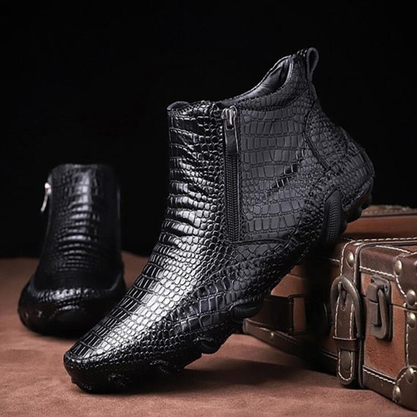 ankle boots, Fashion, leather shoes, leather