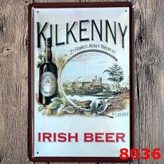 Irish, Cafe, Home Decor, metalpainting