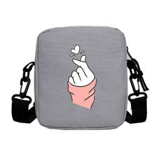 snackpack, kpopblackpinkthumbhandheartbag, Bags, K-Pop