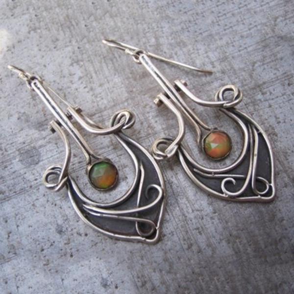 Dangle Earring, jewelrypendant, vintage earrings, Earring