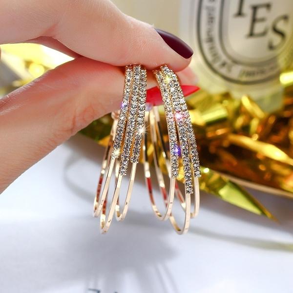 DIAMOND, Dangle Earring, Jewelry, Gifts