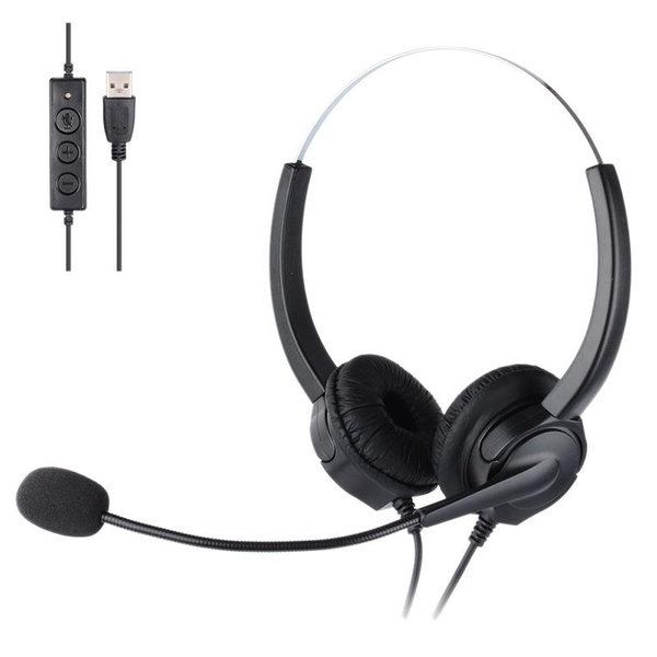 Headset, Microphone, Home & Office, usb