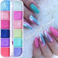 decoration, nailglitter, Colorful, Beauty