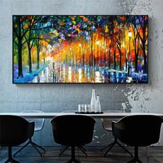 Plants, living room, Colorful, Wall