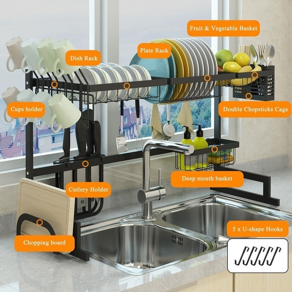 Steel, utensilsholder, Kitchen & Dining, dishstorage