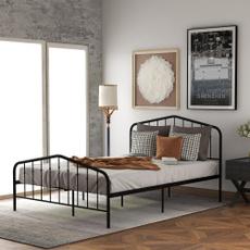 metalbedframe, Home & Living, platformbedframe, Living Room Furniture