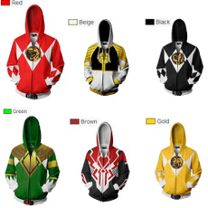 Fashion, powers, zippers, powerranger