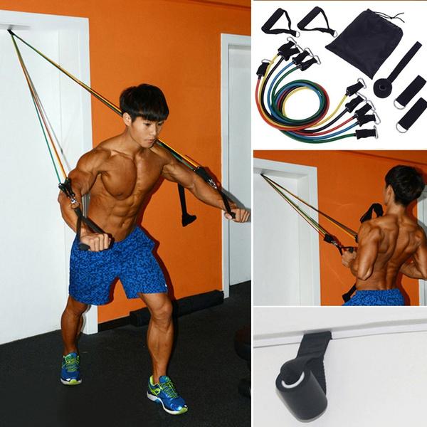 Indoor, Yoga, Elastic, Fitness