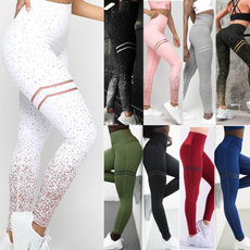 Leggings, Fashion, Yoga, high waist