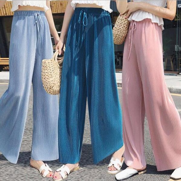 Summer, Wool, Waist, pants