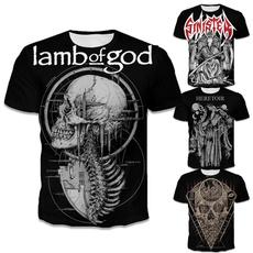 Fashion, printed, christ, skull