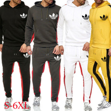 hooded sweater, pants, Sweaters, jogging suit