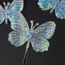 butterfly, Decor, beadampbutton, homebagsdecor
