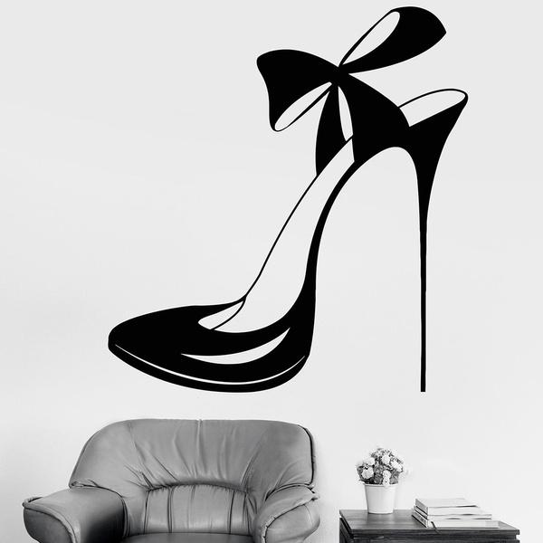 Beautiful, shoessticker, Fashion, art