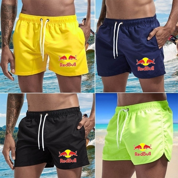 Summer, Beach Shorts, surfboard, Beach