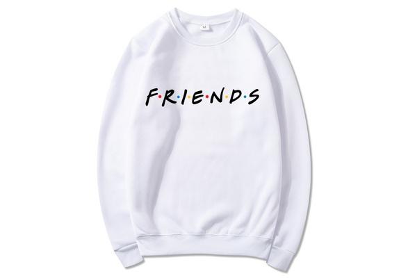 Winter Hoodie Friends TV Show Sweatshirt Casual Clothing Pullover Streetwear