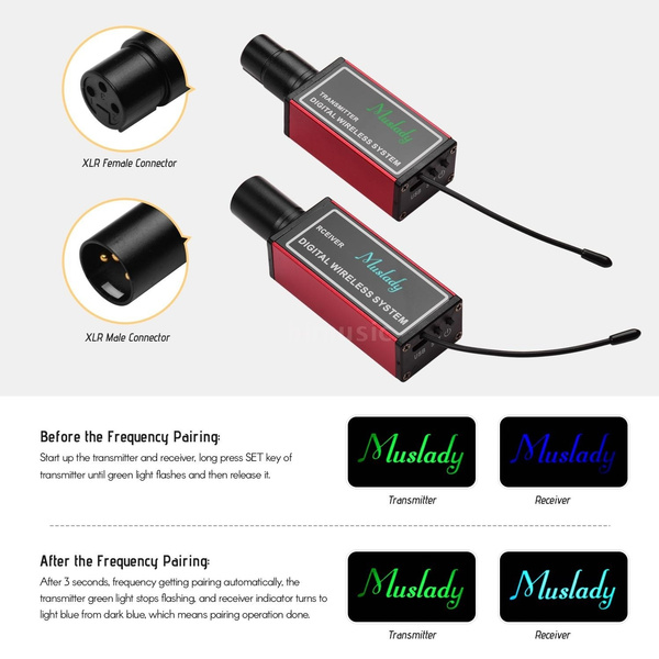 Receiver wireless microphone connect amplifier to to how How to