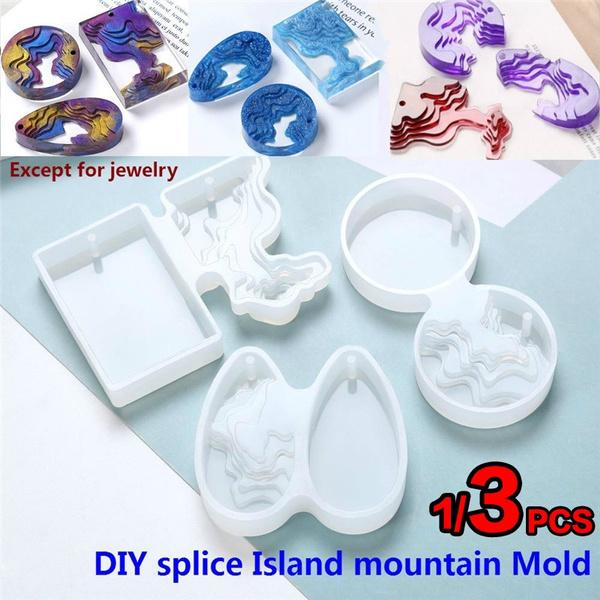 Mountain, splicemold, Flowers, Jewelry