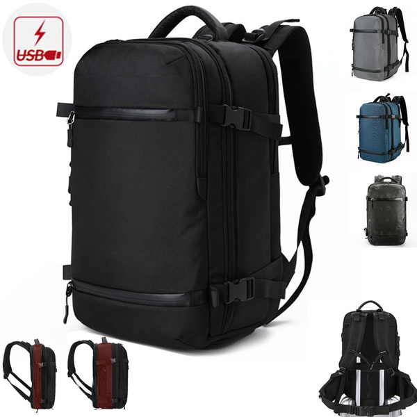 travel backpack, expandablebackpack, Laptop, usb