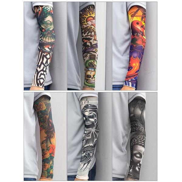 tattoo, cyclinggolf, Sleeve, bikearmwarmer