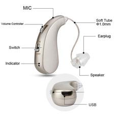 soundamplifier, Mini, digitalhearingaid, voiceamplifier