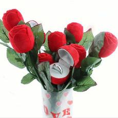 Box, decoration, Flowers, coupleringbox