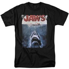 Shark, Funny T Shirt, Cotton T Shirt, jawssharkoriginalmoviepostertshirt