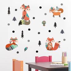 cute, art, Tree, Stickers