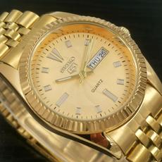 quartz, quartz watch, Tops, Men