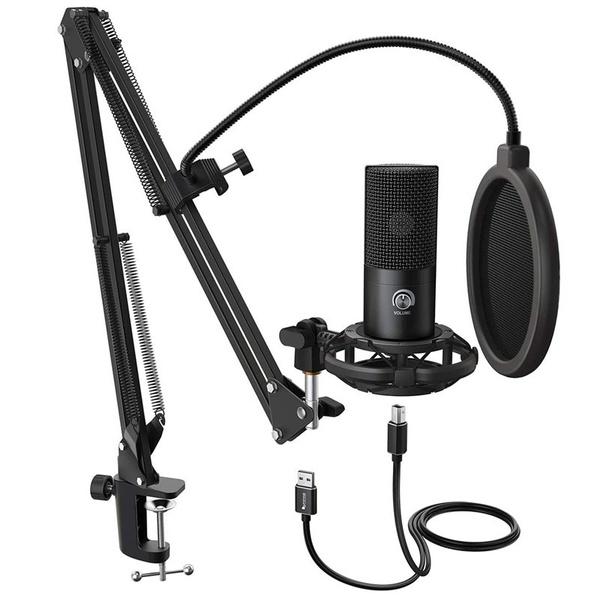 Microphone, condensermicrophonestand, Musical Instruments, microphonestanddesktop