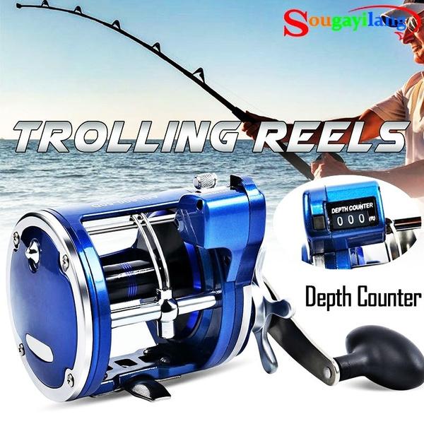 saltwaterfishing, baitcasterreel, trollingfishingreel, Electric