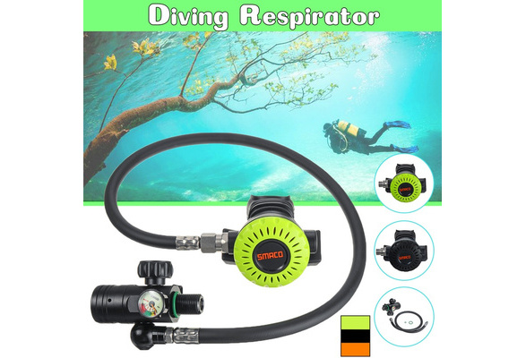 SMACO 360° First Level Pressure Reducing Valve Scuba For Diving Oxygen Cylinder