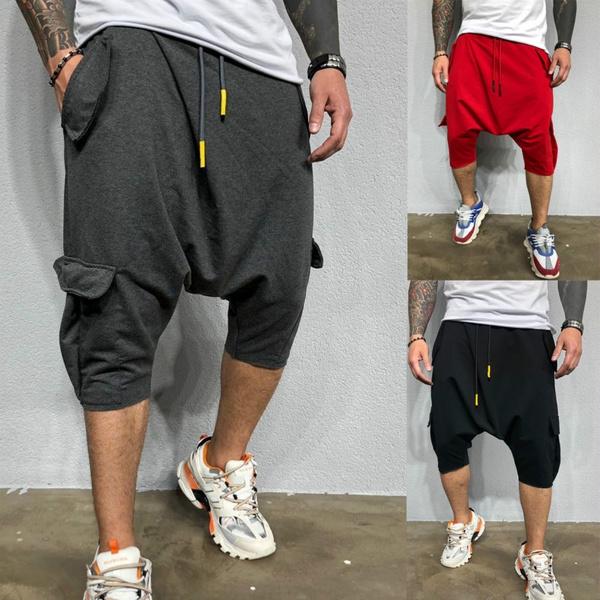Hip-hop Style, Summer, Shorts, Men Shorts