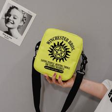 snackpack, Shoulder Bags, Canvas, Bags