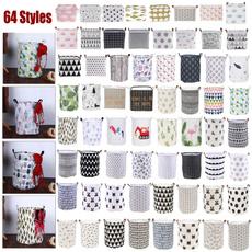 washingbasket, clothesholdingbasket, clothstoragebag, laundrystoragebucket