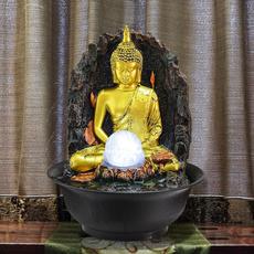 water, buddhastatue, led, Office