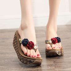 Summer, Sandals, womenflipflop, highheelslipper