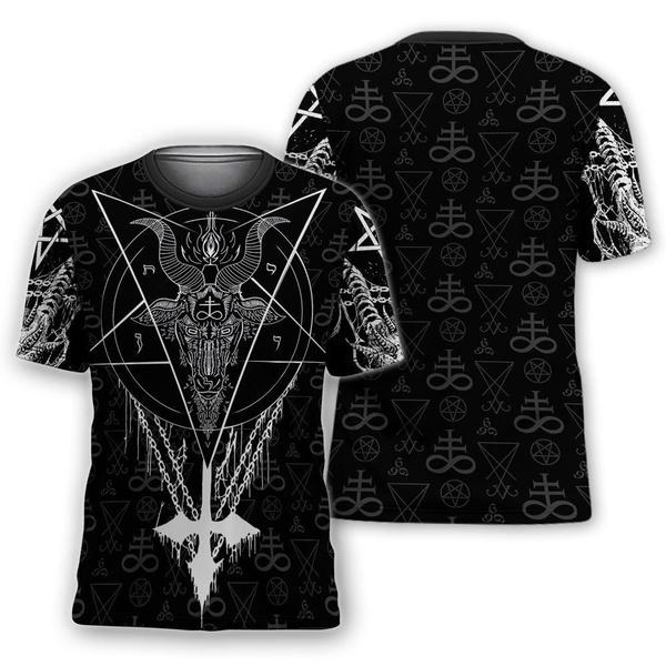 satanictshirt, 3D hoodies, Fashion, pullover hoodie