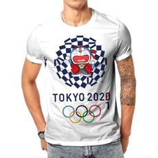 olympic, Shorts, Shirt, Sleeve