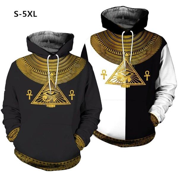 Couple Hoodies, 3D hoodies, Fashion, eye