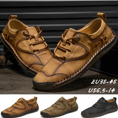 Flats & Oxfords, Hiking, Outdoor, casualleathershoesformen