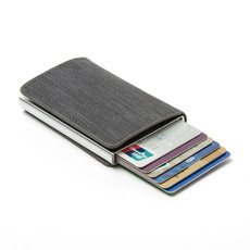 rfidblockingcardholder, pursepocketwallet, Fashion, denimmetalcardholder