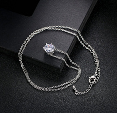 Fashion, Chain, women necklace, Simple