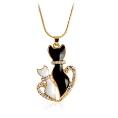 DIAMOND, Jewelry, heart necklace, necklace pendant