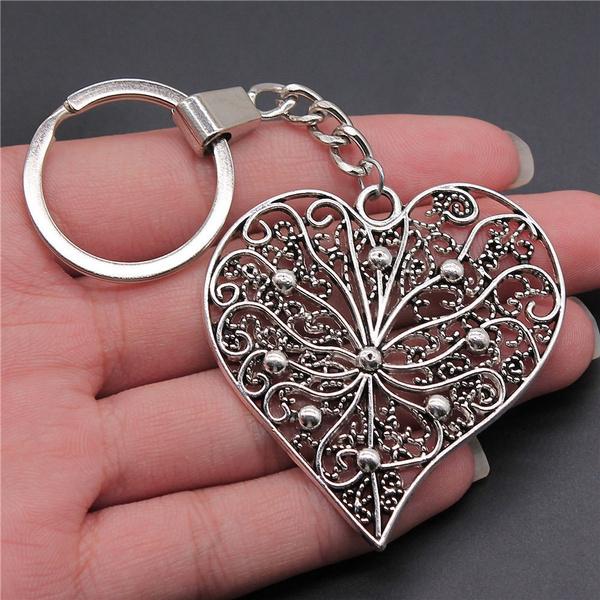 Heart, Silver Jewelry, Fashion, Handmade
